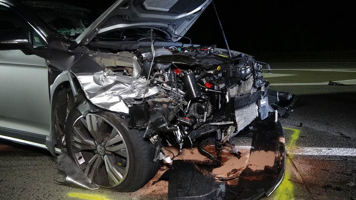 Zeugenaufruf: Geisterfahrer auf A3 verursacht Kollision bei Neustadt