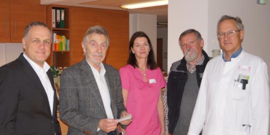 MGV Zufriedenheit spendet f�r Kirchener Palliativstation