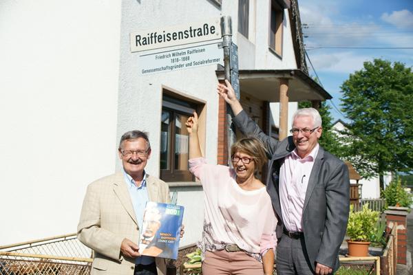 Friedrich-Wilhelm Raiffeisen gleich zweimalig geehrt