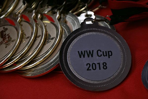Spannung beim 12. Internationalen Karate WW-Cup