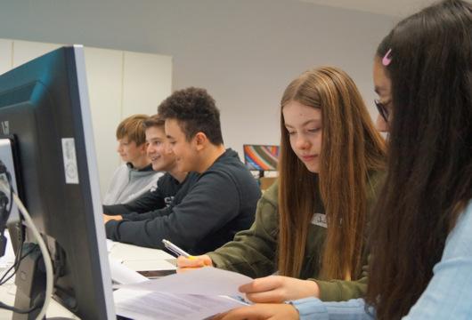 Workshops machten Achtkl�ssler fit f�r moderne Medien