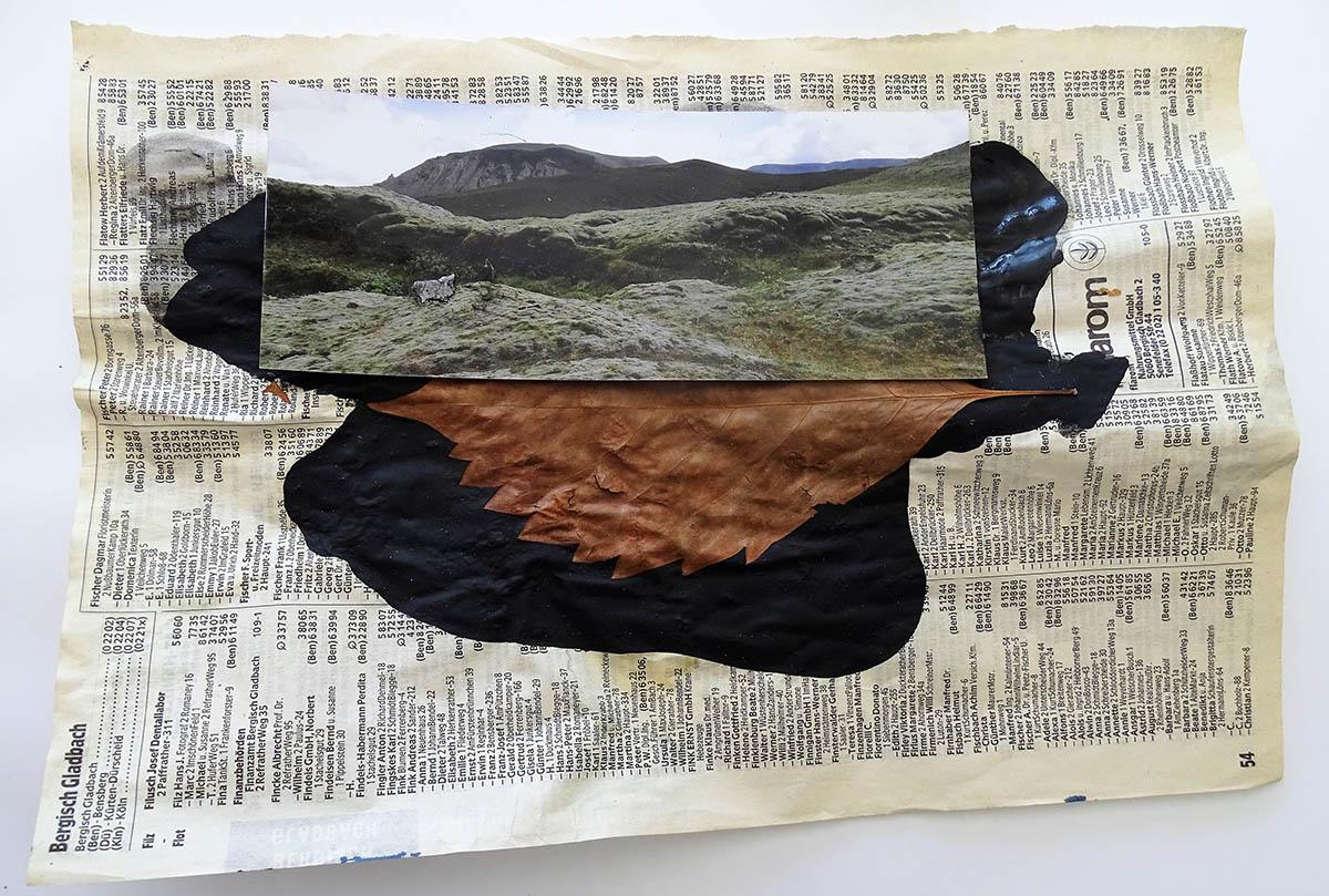 Landschaft weitergedacht - Ausstellung der Künstlerin Schopka