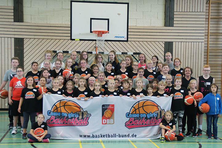 Basketballclub Anhausen-Thalhausen begeistert Mädchen