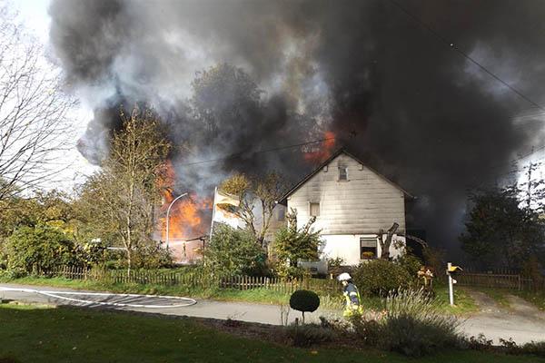 Brandermittler haben keinen Hinweis auf Brandstiftung