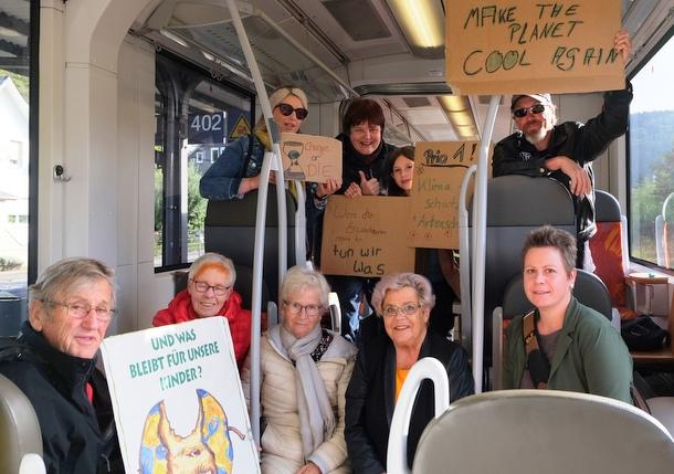 """""""Wir sind hier – wir sind laut!"""" – AK-Grüne bei """"Fridays for Future"""" in Siegen"""