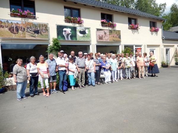 Gemeinsamer Ausflug der VdK-Ortsverbände