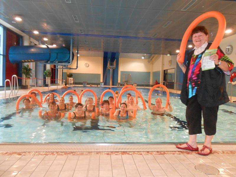 Endlich wieder Aqua-Fitness im Löwenbad Hachenburg