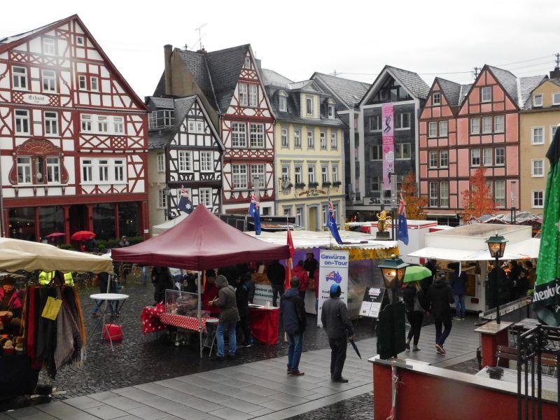 Das Löwenfest in Hachenburg, ein Opfer des Regens