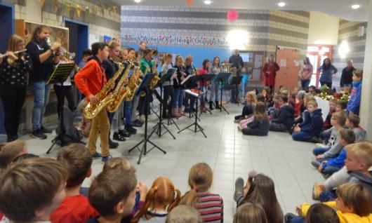 In Hamm gab es ein Konzert unter Nachbar-Schulen. (Foto: Grundschule Hamm)