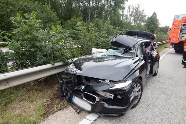 Unfälle: zwei Verletzte und 160.000 Euro Schaden