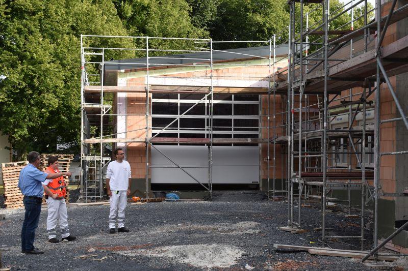 Neue DRK-Rettungswache in Herschbach wird im Oktober eingeweiht