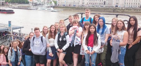Wissener Gymnasiasten zu Gast in England
