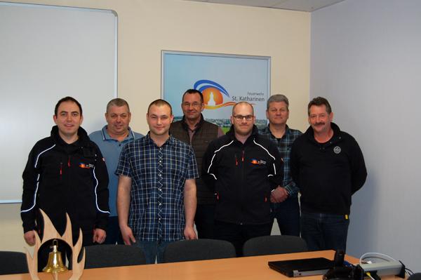 Neuer Vorstand des Fördervereins der Feuerwehr St. Katharinen