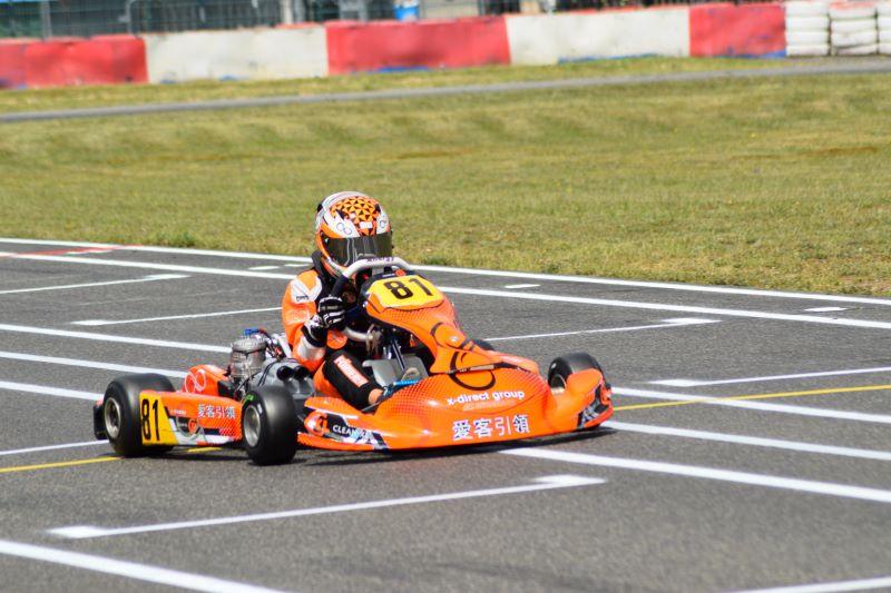 Enrico Förderer ist wieder im Rennen