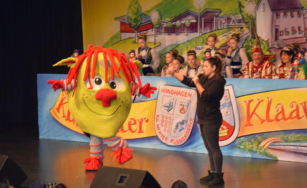 Kinderkarneval Windhagen - buntes Treiben und Spökes mit Zappeltier