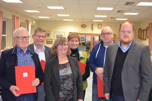 SPD Altenkirchen-Weyerbusch ehrte langjährige Mitglieder