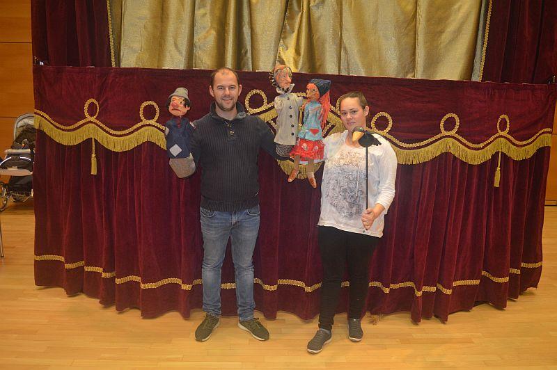Giessener Figurentheater bringt kleine Hexe nach Bad Marienberg