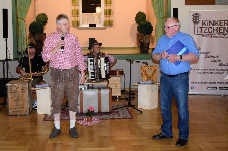 Jahrestag der Partnerschaft Pfaffschwende und Windhagen gefeiert