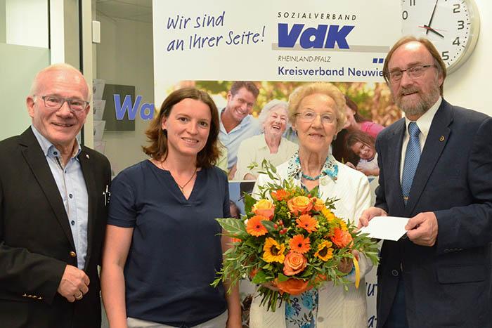 7.000. Mitglied beim VdK-Kreisverband Neuwied