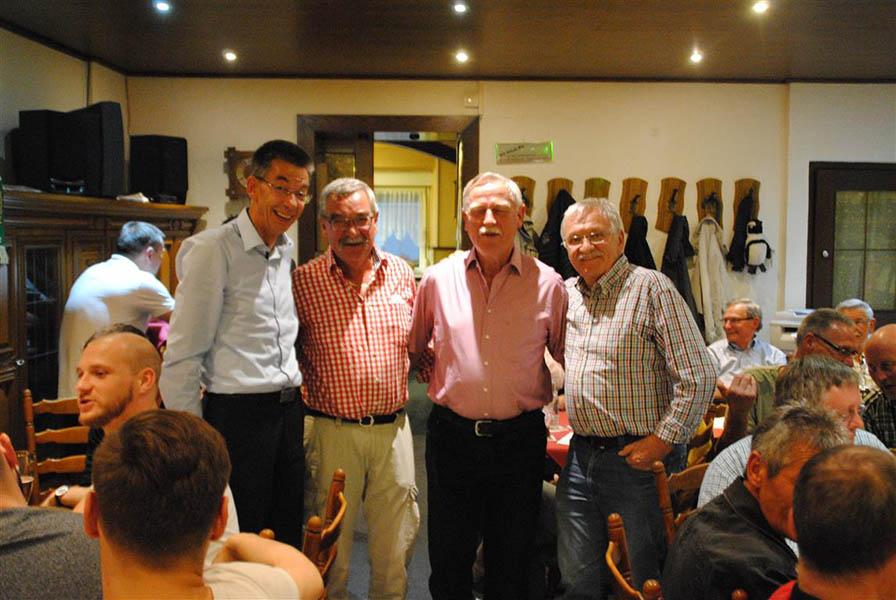 FV Engers 07 ehrt langjährige Mitglieder
