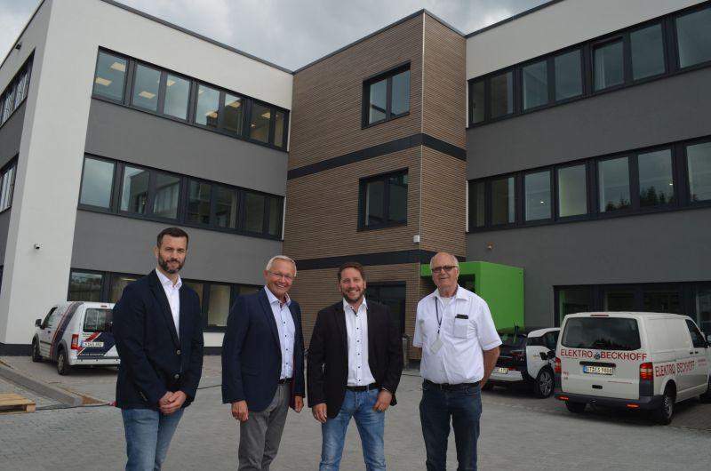 Süwag-Gebäude in Bonefeld steht kurz vor der Fertigstellung
