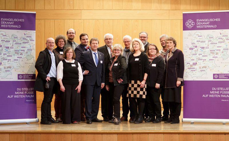 Neues Leitungsteam im Evangelischen Dekanat Westerwald