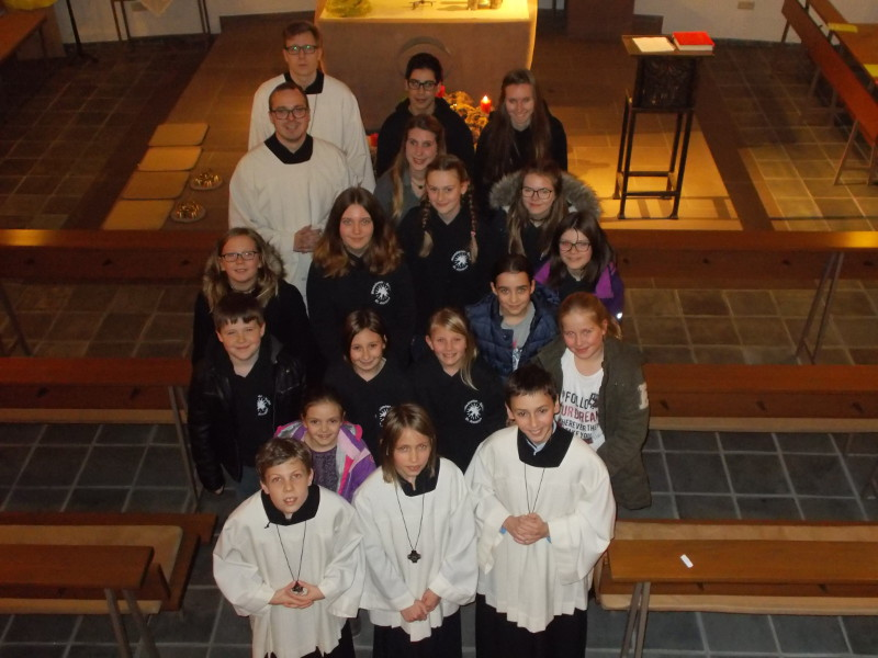 Kirche St. Pius X in Daaden hat drei neue Messdiener