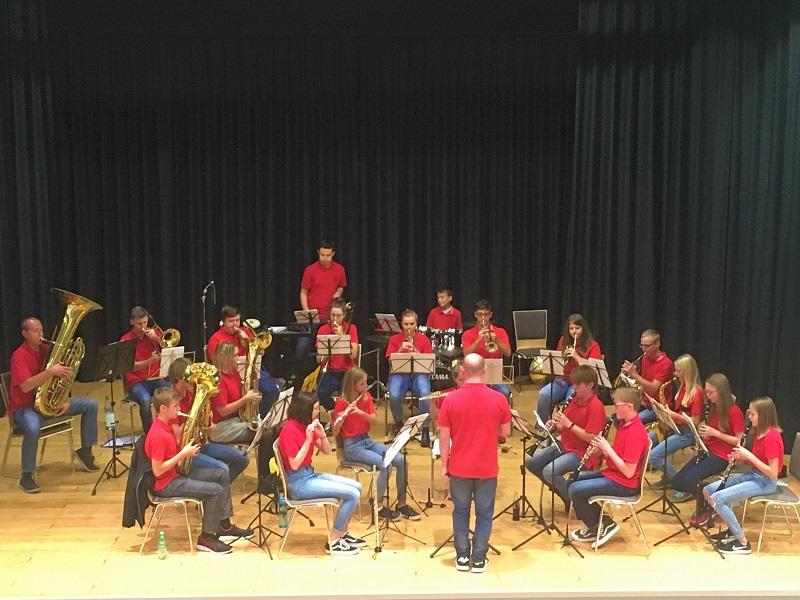 Musiker-Nachwuchs pr�sentierte sich von seiner besten Seite