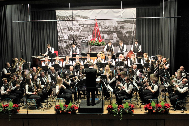 Buntes Jahreskonzert der Daadetaler Knappenkapelle am 2. Advent