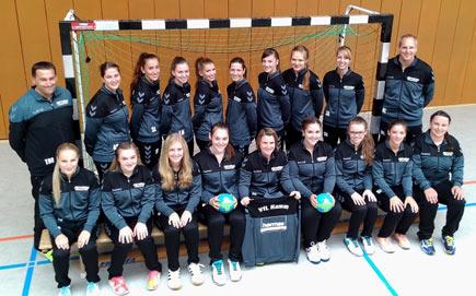VfL Hamm Handballerinnen �bernahmen Tabellenf�hrung