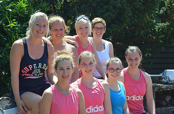 Tennis-Damen der SG Westerwald mit guter Saison