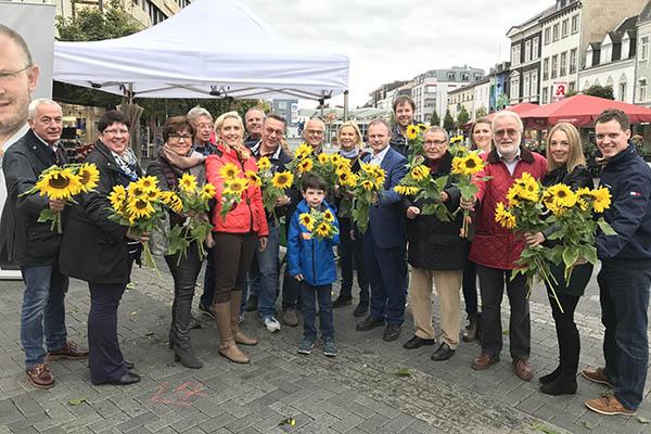 Künftiger Oberbürgermeister Jan Einig sagt Danke
