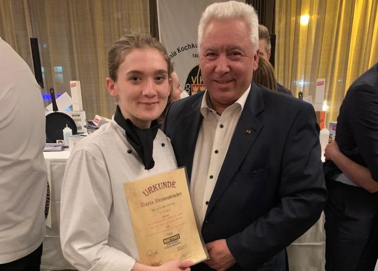 Klostergastronomie Marienthal: Nachwuchsk�chin mit tollem Ergebnis beim Wettbewerb