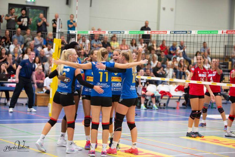 Deichstadtvolleys gewannen beim Aufsteiger TSV Ansbach