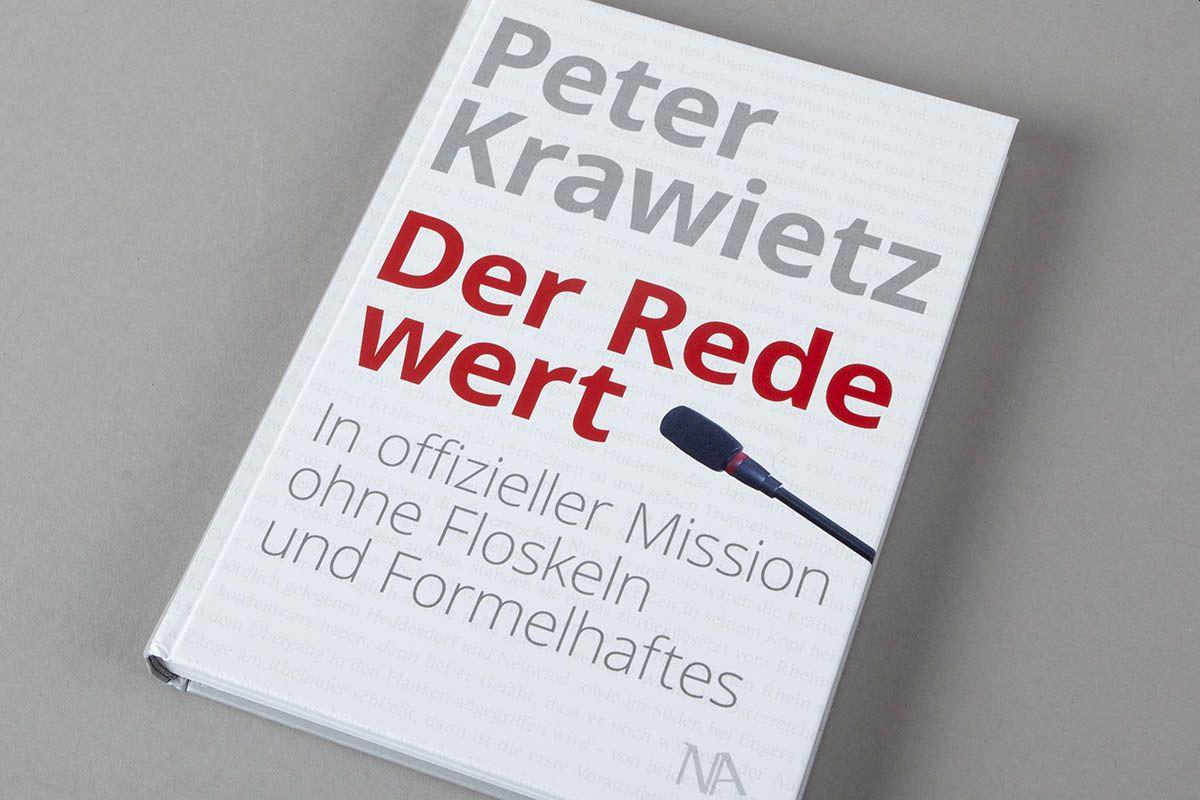 """Buchtipp: """"Der Rede wert"""" von Peter Krawietz"""