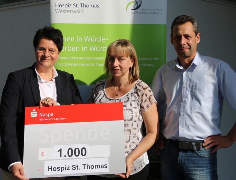 Ortsgemeinde Mogendorf unterstützt Hospiz St. Thomas