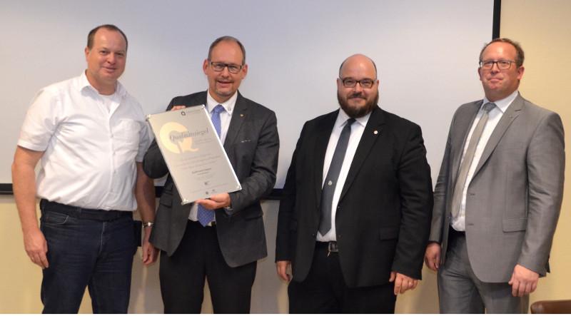 Raiffeisen-Campus erhält seltene Auszeichnung
