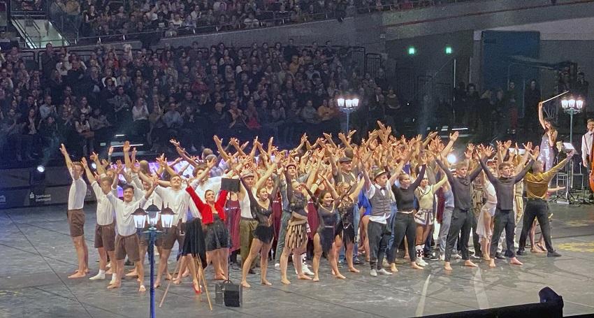VfL Dermbach besuchte wieder Europas größte Turnshow