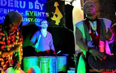 Afrikanischer Trommelabend mit Deru Béy
