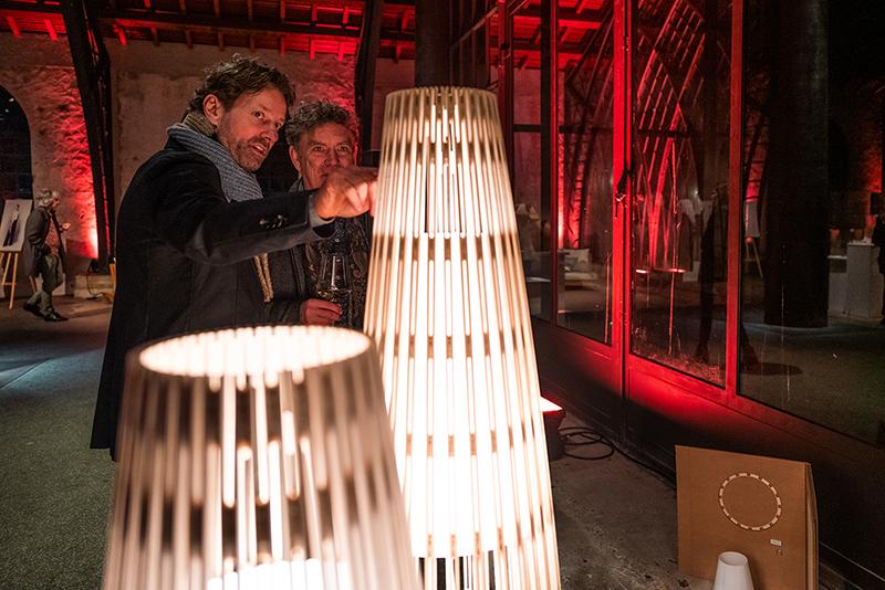Ausstellung der Wettbewerbsarbeiten in der Gießhalle der Sayner Hütte.  Fotos: P!ELmedia