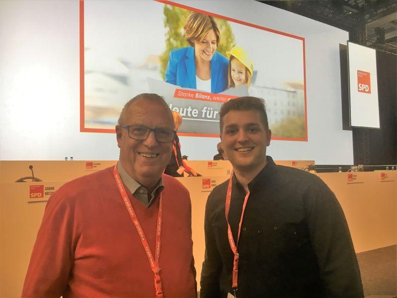 Martin Diedenhofen in den SPD-Landesvorstand gewählt