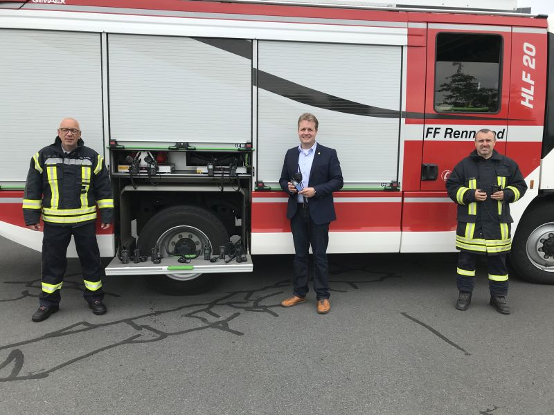 Technologiewechsel beim Funksystem der Feuerwehr