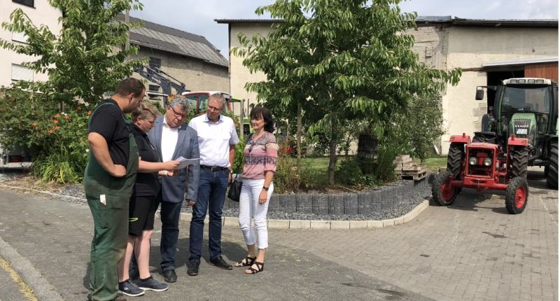 Dorferneuerungsprogramm: Mahlert zieht positive Förderbilanz