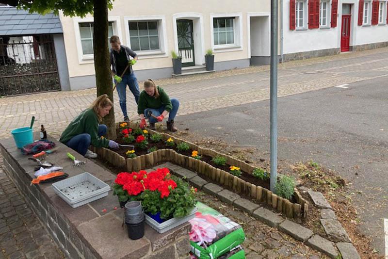 Dorfputz in Unkel-Scheuren