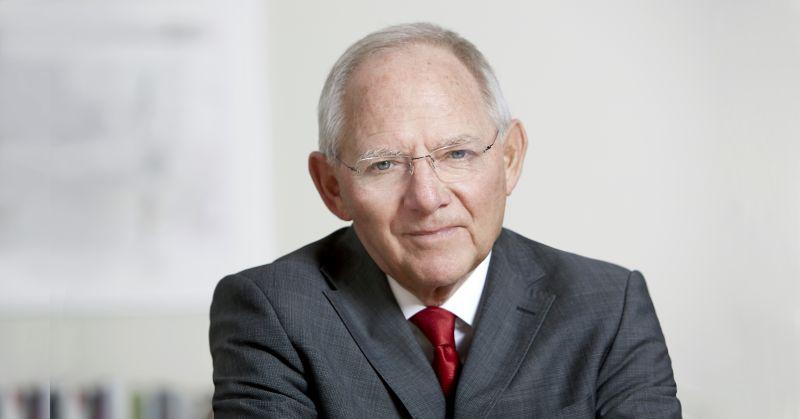 Bundesfinanzminister Schäuble in Windhagen