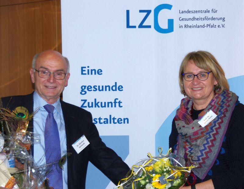 Prof. Dr. med. Ursula Rieke neue Vorstandsvorsitzende der LZG