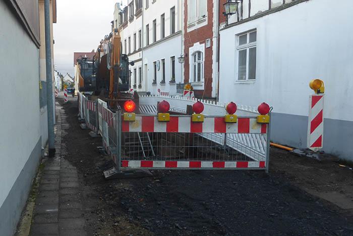 Baustelle Heddesdorf - SPD-Ortsverein Heddesdorf hält Nachlese