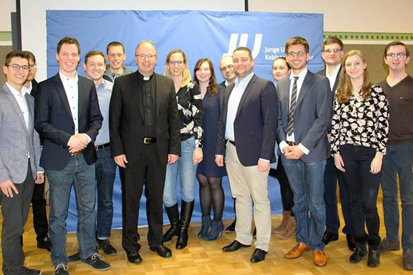 Junge Union: Dreikönigstreffen mit Bischof Ackermann