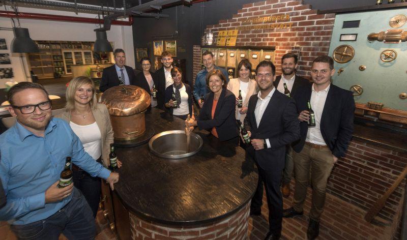 Ministerpräsidentin Malu Dreyer besuchte Westerwald-Brauerei