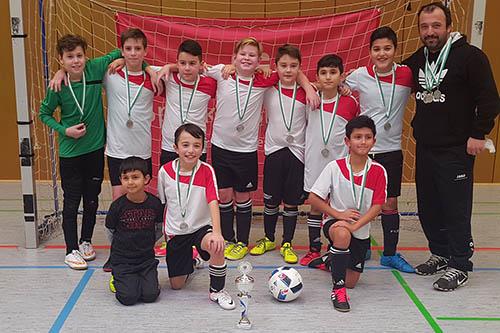 E-Junioren des VfL Hamm sind Futsal-Hallenkreismeister